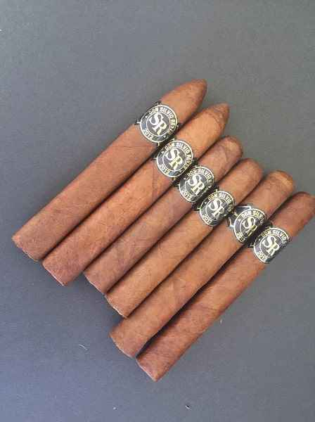 (#39)  New Product -SR Sampler - From Left to Right - Torpedo Square, Robusto and Toro